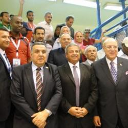 Minister of sport with CAVB President and CAVB officials_resize