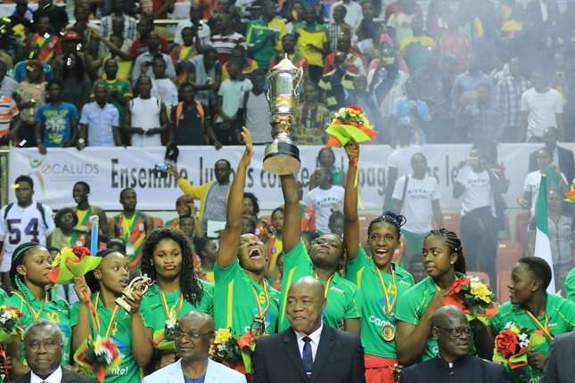 Cameroon enter history book with first Women's title