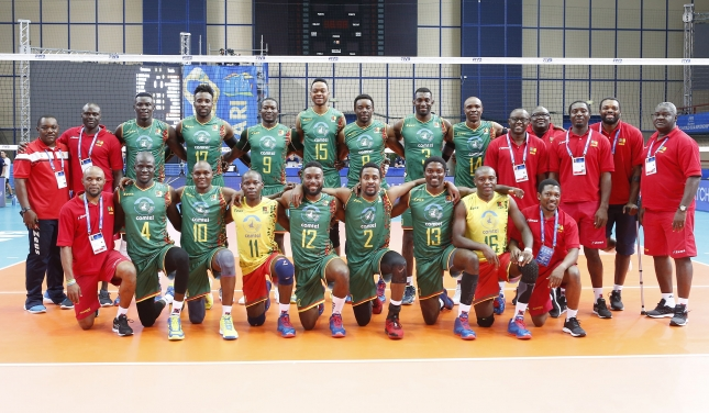 World Championship Men's: Cameroon enchanting dance on the court to celebrate their victory over Tunisia