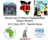 MATCH SCHEDULE OF 2015 WOMEN'S AFRICAN NATIONS CHAMPIONSHIP