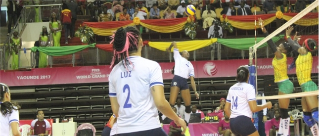 Venezuela see off Cameroun in straight sets